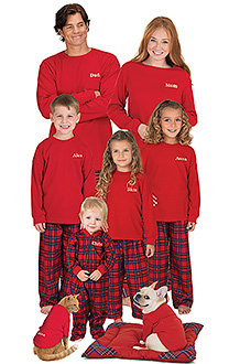 Stewart plaid pajamas