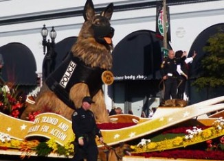 K9s4Cops float