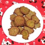 Zucchini dog biscuits