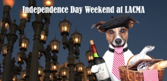 Dog-friendly jazz at LACMA