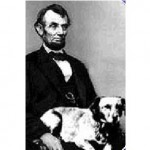 President-Lincoln-seated-Fido